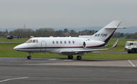N5736 @ EGBJ - A visitor to Gloucestershire Airport on the day of the horse racing Gold Cup  at the nearby Cheltenham Racecourse