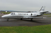 G-SOVA @ EGBJ - A visitor to Gloucestershire Airport on the day of the horse racing Gold Cup  at the nearby Cheltenham Racecourse