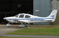 N1569C @ EGBJ - Cirrus SR22 at Gloucestershire Airport