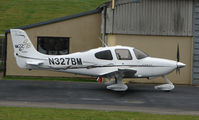 N327BM @ EGBJ - Cirrus SR22 at Gloucestershire Airport