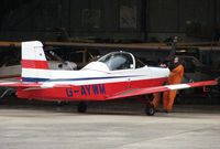 G-AYWM @ EGBJ - Resident aircraft based at Gloucestershire Airport