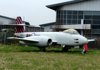 WH364 @ EGBJ - Stored at the western side of Gloucestershire Airport