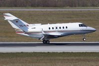 TC-FIN @ VIE - Raytheon Hawker 800XP