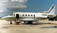 N424R @ PBI - Sabre 75A taken at West Palm Beach in August 1999