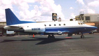 N903K @ ORL - N903K was a Sabre 65 c/n 465-57 when photographed at Orlando Executive in 1991