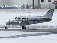 C-FGXL @ CYOW - Private Beech aircraft - by CdnAvSpotter