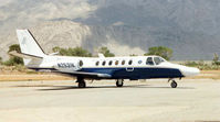 N2531K - US Cutoms Cessna 550 at a small strip in Nevada in 1997