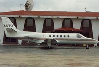 XA-PIJ @ DAL - Mexican Cessna 550 at Dallas Love Field in 1992