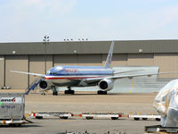 UNKNOWN @ DFW - American Airlines 777 at the west maintenance hanger.
