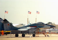 506 @ AFW - Mig-29 at Alliance Ft. Worth Airshow - one of the first apearances of current Soviet technology at US airshows.