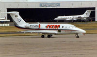 PT-LUO @ LFPB - Cessna 650 at Paris Le Bourget during Air Show 1998 week
