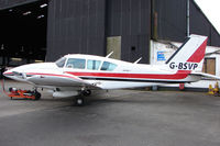 G-BSVP @ EGTR - Part of the busy GA scene at Elstree Airfield in the northern suburbs of London