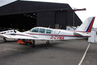 G-CYMA @ EGTR - Part of the busy GA scene at Elstree Airfield in the northern suburbs of London