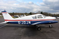 G-JDJM @ EGTR - Part of the busy GA scene at Elstree Airfield in the northern suburbs of London