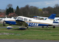 G-LEAM @ EGTR - Part of the busy GA scene at Elstree Airfield in the northern suburbs of London