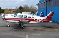 G-BZPG @ EGTR - Part of the busy GA scene at Elstree Airfield in the northern suburbs of London