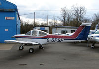 G-OPSF @ EGTR - Part of the busy GA scene at Elstree Airfield in the northern suburbs of London