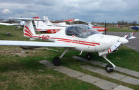 G-BWGY @ EGTR - Part of the busy GA scene at Elstree Airfield in the northern suburbs of London