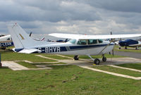 G-BHVR @ EGTR - Part of the busy GA scene at Elstree Airfield in the northern suburbs of London