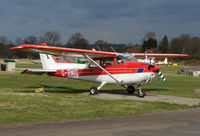 G-BMIG @ EGTR - Part of the busy GA scene at Elstree Airfield in the northern suburbs of London