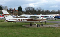 G-PHAA @ EGTR - Part of the busy GA scene at Elstree Airfield in the northern suburbs of London