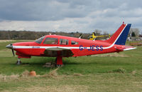 G-JESS @ EGTR - Part of the busy GA scene at Elstree Airfield in the northern suburbs of London