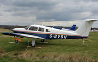 G-BVDH @ EGTR - Part of the busy GA scene at Elstree Airfield in the northern suburbs of London