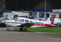 G-CETE @ EGTR - Part of the busy GA scene at Elstree Airfield in the northern suburbs of London