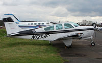 N121JF @ EGTR - Part of the busy GA scene at Elstree Airfield in the northern suburbs of London