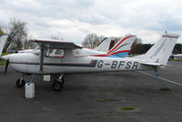 G-BFSR @ EGTR - Part of the busy GA scene at Elstree Airfield in the northern suburbs of London