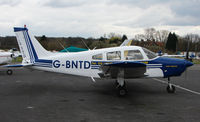 G-BNTD @ EGTR - Part of the busy GA scene at Elstree Airfield in the northern suburbs of London