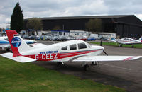 G-CEEZ @ EGTR - Part of the busy GA scene at Elstree Airfield in the northern suburbs of London - by Terry Fletcher