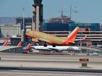 N791SW @ KLAS - Southwest Airlines / 2000 Boeing 737-7H4
