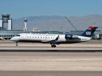 N27191 @ KLAS - US Airways - Express / 1997 Canadair CL-600-2B19