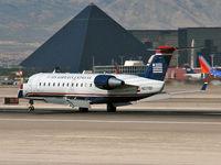 N27191 @ KLAS - US Airways / 1997 Canadair CL-600-2B19