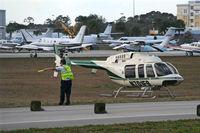 N701FS @ DAB - Bell 407