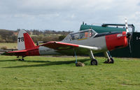 G-BVTX @ EGBM - This 1952 DHC-1 Chipmunk wears Royal Navy marks WP809