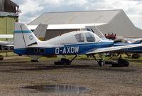 G-AXDW @ EGBD - Beagle at Derby Eggington for maintenance