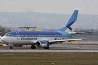 ES-ABC @ VIE - Boeing 737-5Q8 - by Juergen Postl