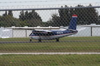 N307V @ COI - Aero Commander 680 in US Airways old colors