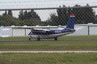 N307V @ COI - Aero Commander 680 in US Airways old colors