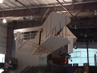UNKNOWN @ DAL - Wright Flyer replica hanging in the Frontiers of Flight Museum