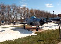 51-5605 @ FAR - Lockheed F-94C-1-LO Starfire, North Dakota Air National Guard display area. 51-5605 - by Timothy Aanerud