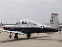 01-3610 @ KLNK - Air Force Turbo Prop - by Gary Schenaman