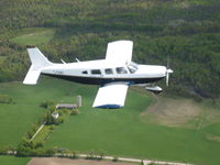 C-GDBT @ CYPQ - DBT in flight - by Richard Cooper