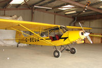 G-BEUA - Piper Cub at Dunstable Downs