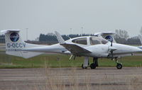 G-OCCV @ EGTC - Part of the General Aviation activity at Cranfield