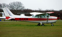 G-LICK @ EGTC - Part of the General Aviation activity at Cranfield