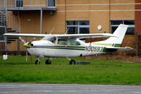 N30593 @ EGTC - Part of the General Aviation activity at Cranfield