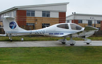 G-OCCG @ EGTC - Part of the General Aviation activity at Cranfield